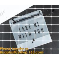 China Customized Bags PVC Phone Bag Cosmetic Bag Ladies Handbag Clothes Packing Bag Wine Cooler Ice Bag Stationery Document Ba on sale