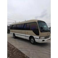 Wholesale japan brand toyota coaster 30 seats diesel fuel second hand medium-sized bus 4x2 coaster on sale from china suppliers
