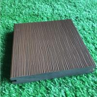 Wholesale Durable Co Extrusion Wpc Decking , Bamboo Plastic / Wood Polymer Composite Decking from china suppliers