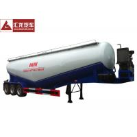 Wholesale 11500x2500x4000 Mm Dry Bulk Trailer , Lime Powder Pneumatic Sand Trailer High Adaptability from china suppliers