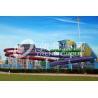 Fun Backyard Water Slide Amusement Park Custom Pool Slides For Family
