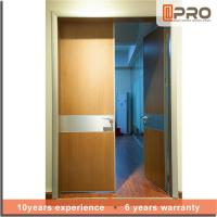 Wholesale Break Resistance MDF Interior Doors Eco Friendly With Handles And Hinge from china suppliers