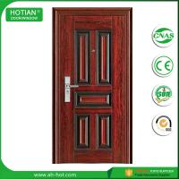 Wholesale Latest design Security Steel Door popular in Algeria safety door pictures from china suppliers