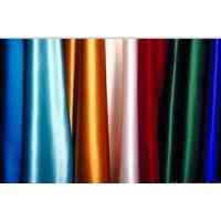 Wholesale Lean Textile polyester plain dyed color satin fabric from china suppliers