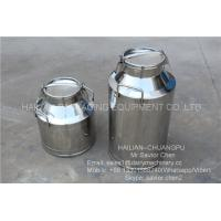 China Heat Preservation Milk Bucket Stainless Steel Milk Containers Dairy Equipment on sale