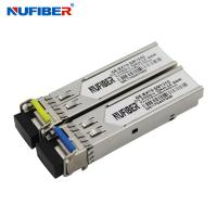 Wholesale Simplex LC 1.25G Sfp Transceiver Single Mode , Sfp Module 1310nm 1550nm from china suppliers