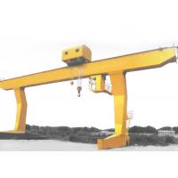 Wholesale Flexible Operation Overhead Crane Single Girder Unloading Hook Wide View from china suppliers
