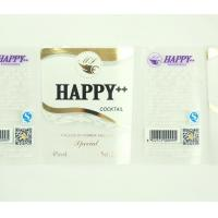 Wholesale PVC sticky label the printing as customize from china suppliers