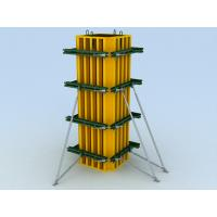 Quality Adjustable square or rectangle Concrete Column Formwork with variational dimension for sale