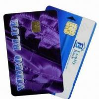 Wholesale PVC Contact Smart Chip Cards (Chip 4442), Measures 86x54x0.84mm from china suppliers