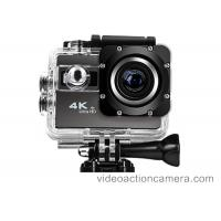 Wholesale 60fps HD 4K Waterproof Action Camera Camcorder With 30 Meter , NTK96660 CPU from china suppliers
