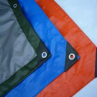 Wholesale Waterproof PE Tarpaulin Sheet / Polyethylene Sheet Roll Ground Cover from china suppliers