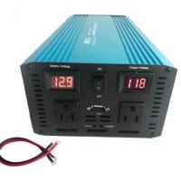 China Off-Grid PURE SINE WAVE 1500W 3000W Surge 12V Power Inverter DC to 110V AC for RV Back Up Power on sale