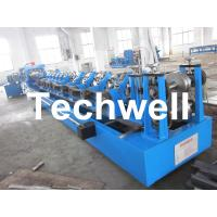 China Automatic Steel Purlin Roll Forming Machine with PLC Control System For Cee Zee Purlins on sale