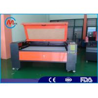 Buy cheap 220V 50HZ Laser Fabric Cutting Machine 2200mm x 1600mm Automatic Speeding System from wholesalers