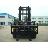 Wholesale 3m Lifting Height 10 Ton Forklift , Container Spec Forklift  For Loading / Unloading from china suppliers