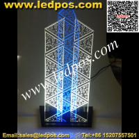 China Tabletop LED Edge Lit Sign on sale