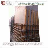 Wholesale Factory price 400mm width Aluminum formwork for concrete/column beam wall formwork/ used formwork from china suppliers