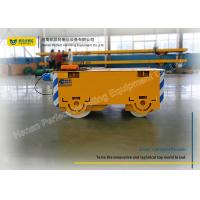 Wholesale Heavy Duty Pallet Transfer Carts , Flatbed Rail Transfer Trolley For Steel Plant from china suppliers