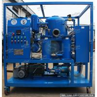 Wholesale Blue Oil Purification Systems / 380V 50HZ Vacuum Dehydration Unit 800-1600KGS from china suppliers