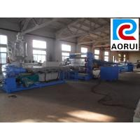China Fully Automatic Double Screw PVC Plastic Board Extrusion Line with CE Certificate on sale