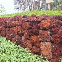 Buy cheap Red Lava Landscape Stone from wholesalers