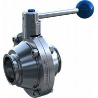 China Clamped Ball Valve (Butterfly Type) on sale