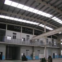 Wholesale Environmental Light Steel Structure Prefab Warehouse with Office Room from china suppliers