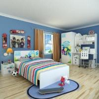 Wholesale E0 Grade Children's Bedroom Furniture/Home Product/Boys Bedroom with Printing Customized Designs from china suppliers