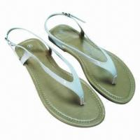 Wholesale Popular Ladies' Flat Fashionable Sandals, Beautiful, Available in 36 to 41# Sizes from china suppliers