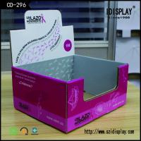 Buy cheap Recyclable Special Box Shape Cardboard Counter Display For Jewellery With Lid from Wholesalers