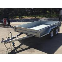 Wholesale 10x6 Hot Dipped Galvanized Tandem Trailer 2000KG from china suppliers