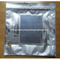 Wholesale Metalized Silver Ziplock Foil Bag Pouches from china suppliers
