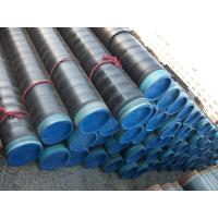 China 3PE Coated low temperature carbon steel pipe Hot drawn , DING 30670 , API5L on sale