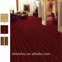 China Red multi level loop blending material carpets for home on sale