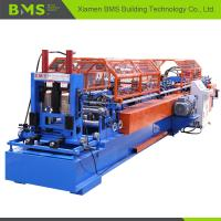 Quality C to Z Shaped Steel Purlin Roll Forming Machine Quickly Change CE Qualified for sale