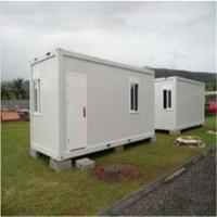 Wholesale Standard Flat Pack Movable Sandwich Panel Prefab Container House from china suppliers