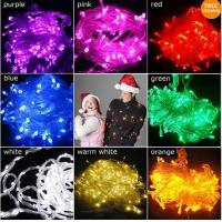 Wholesale 100 LED 10m String Light for Christmas Party Wedding Purple from china suppliers