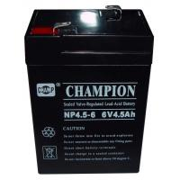 Wholesale Champion 6V4.5AH AGM battery 6V UPS battery Lead Acid battery from china suppliers