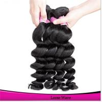 Long Lasting Soft natural Brazilian Hair Weave Unprocessed Virgin Brazilian Hair for sale