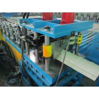 High Efficiency Ridge Cap Roll Forming Machine 20Mpa 0.05mm Cr - Plating