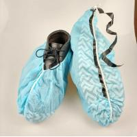 Wholesale Slip Resistance Plastic Shoe Protectors , Disposable Waterproof Shoe Covers from china suppliers