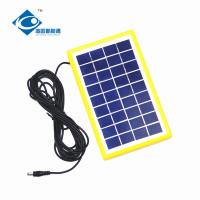 Buy cheap 9V 3W solar panel photovoltaic for solar power system ZW-3W-9V-1 Glass Laminated from wholesalers