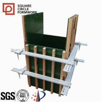 Wholesale china supplier shuttering clamp good square pillars formwork easy clean plastic formwork column formwork for the constru from china suppliers