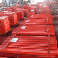 Buy cheap high manganese steel casting crusher jaw plate fixed jaw plate for mning crusher from wholesalers