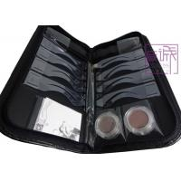 China OEM Eyebrow Stenciling Kit with Leather Case on sale