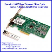 Wholesale 1 Gbs 1 Port Server Network NIC Cards, Intel 82572 Chipset, SFP Slot*1, PCI Express x4, LC Fiber, Femrice 10001PF from china suppliers