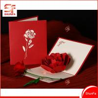 Buy cheap sf cut cheap 3d pop up of wedding anniversary cards from