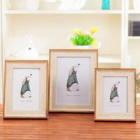 Wholesale American Style Custom Photo Frame , 7 Color Wooden Wedding Picture Frames from china suppliers