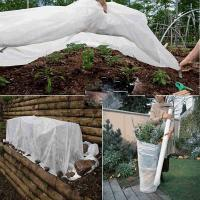 Wholesale White Color Anti - UV Non Woven Landscape Fabric Roll for Protecting Plants Folding from china suppliers